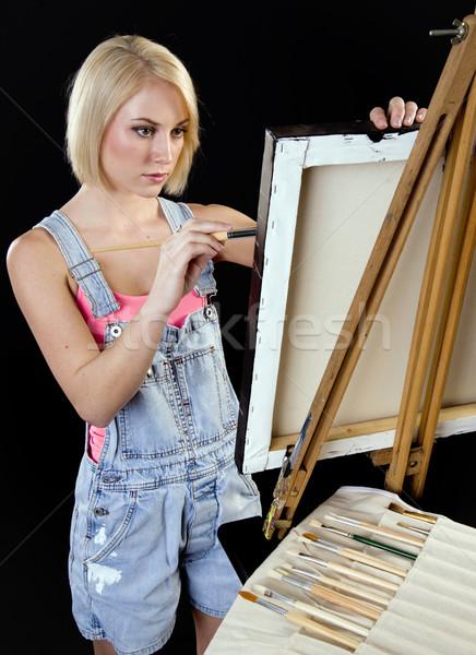 Painter Stock photo © cboswell