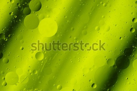 Lime Green Tones Abstract Hortizontal Design Background Rounds S Stock photo © cboswell