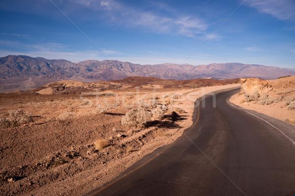 Disque côté route parfait jour mort Photo stock © cboswell