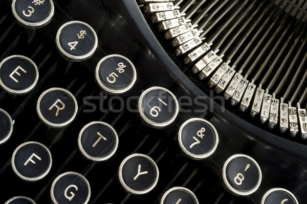 Stock photo: Vintage Keyboard