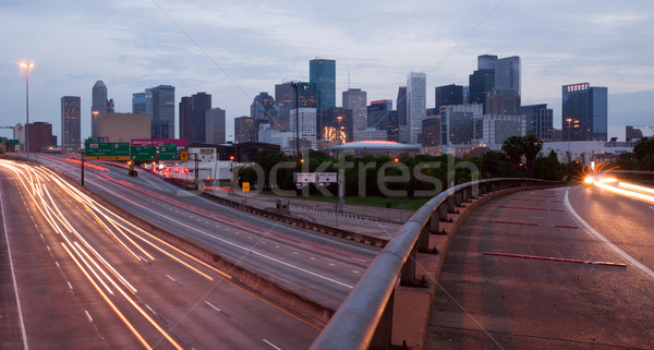 Stockfoto: Houston · Texas · centrum · stedelijke · landschap