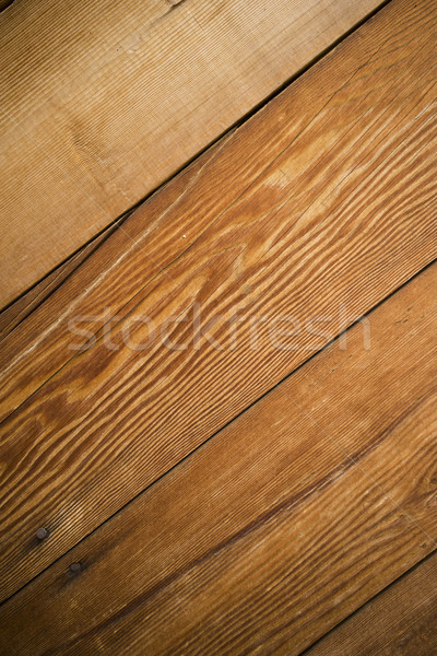 Weathered Barn Wall Wood Grain Plank Hardwood Deck Stock photo © cboswell