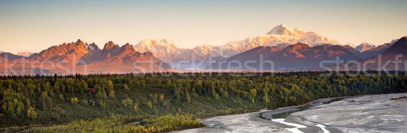 Alcance norte américa sol horizonte longo Foto stock © cboswell