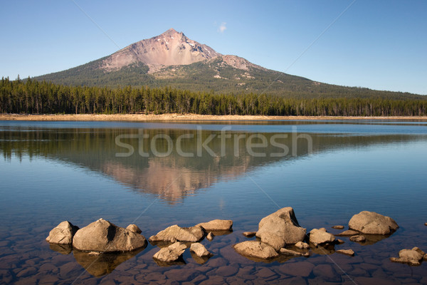 Mount Mcloughlin Stock photo © cboswell