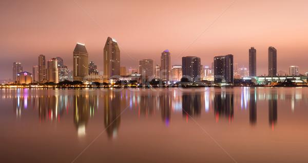 San Diego California West Coast United States City Skyline Stock photo © cboswell