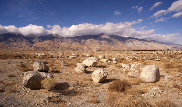 Berge Tod Tal Wüste Landschaft groß Stock foto © cboswell
