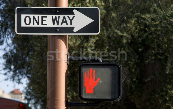 One Way Stock photo © cboswell