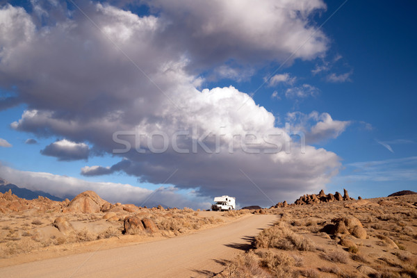 Off Road Recreation Alabama Hills Above Lone Pine Stock photo © cboswell