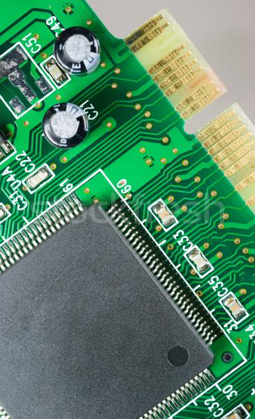 Számítógép alkotóelem nyáklap emlék processzor hálózatok Stock fotó © cboswell