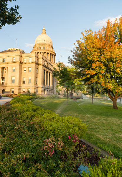 Boise Idaho Capital City Downtown Capitol Building Legislative C Stock photo © cboswell