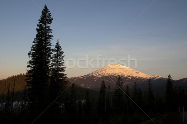 Mount Bachelor Mountain Ski Area Resort Oregon United States Stock photo © cboswell