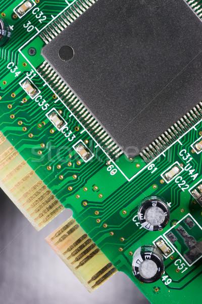 Computer Component Circuit Board Memory Processor Networking Car Stock photo © cboswell