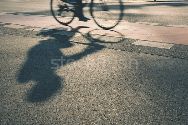 Cyclist  Stock photo © Chalabala