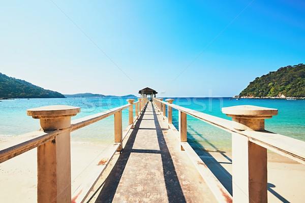 Amazing beach in Malaysia Stock photo © Chalabala