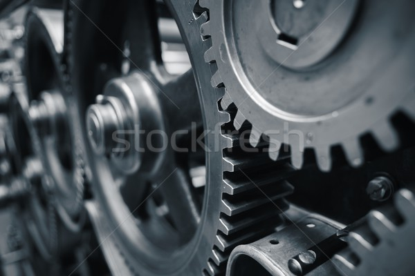 Cog wheels Stock photo © Chalabala