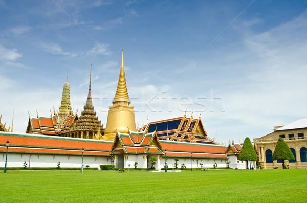 Pałac budynku sztuki miejskich architektury wieża Zdjęcia stock © chatchai