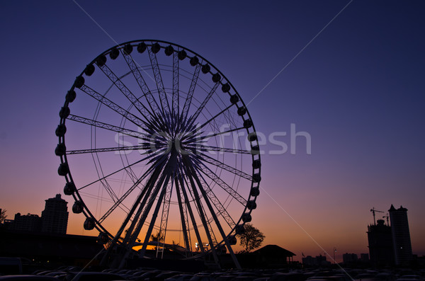 The ferris wheel  Stock photo © chatchai