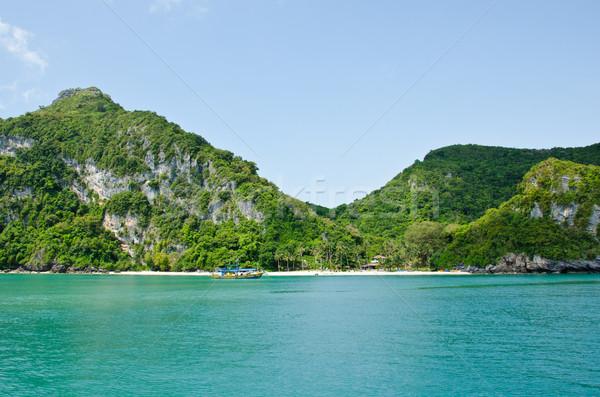 Wyspa morza Tajlandia morskich parku Zdjęcia stock © chatchai