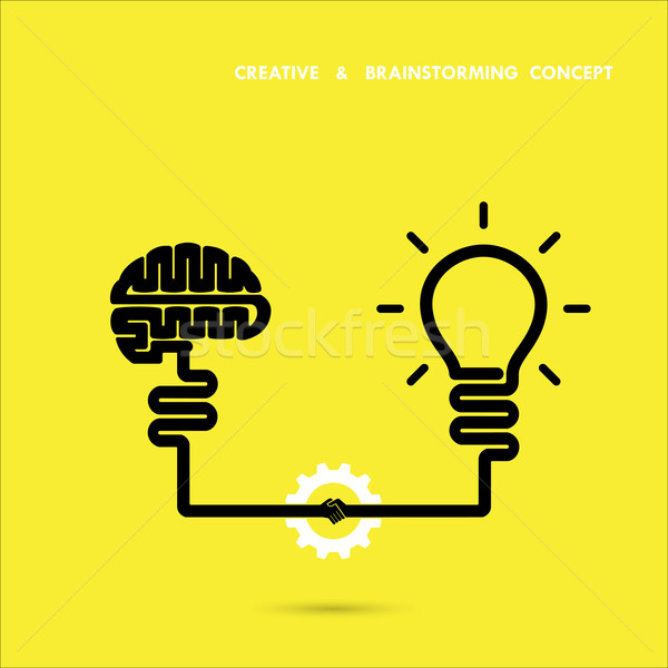 Yaratıcı iş eğitim fikir yenilik Stok fotoğraf © chatchai5172