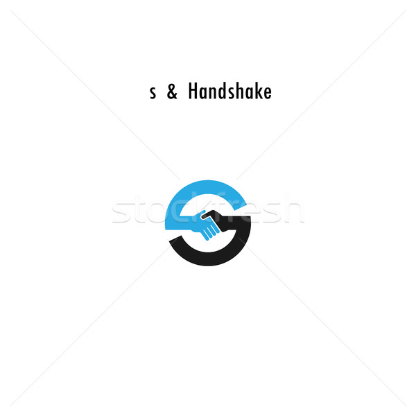 Creative S- letter icon abstract logo design vector template.Bus Stock photo © chatchai5172