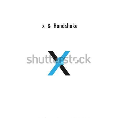 Foto stock: Criador · carta · ícone · abstrato · design · de · logotipo · vetor