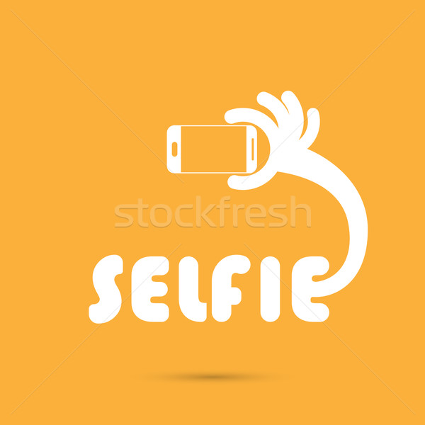 Toma retrato foto icono Foto stock © chatchai5172