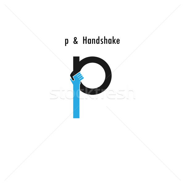 Foto stock: Creativa · carta · icono · resumen · diseño · de · logotipo · vector