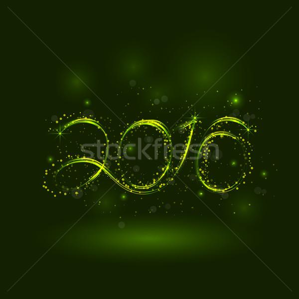 Happy new year kart örnek tatil dizayn parti Stok fotoğraf © chatchai5172