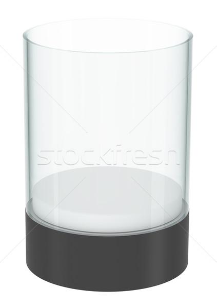 Realistic empty display case with podium Stock photo © cherezoff