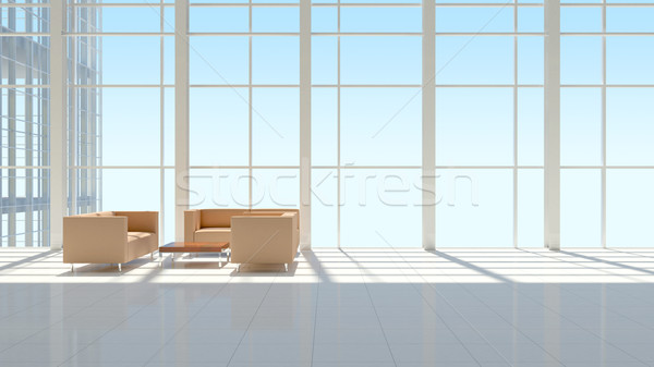The interior of an office building Stock photo © cherezoff