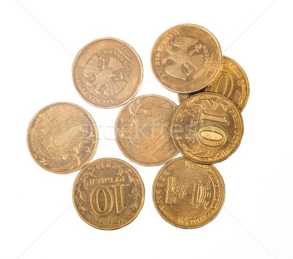 Pile of coins Stock photo © cherezoff