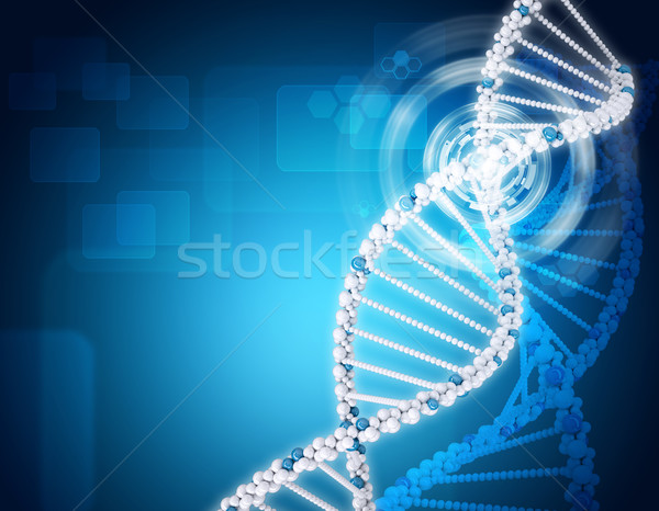 Human DNA. Background of hexagons, boards Stock photo © cherezoff