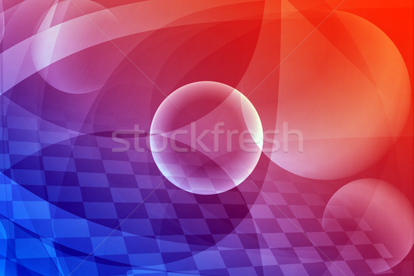 Abstract colorful background with words Stock photo © cherezoff