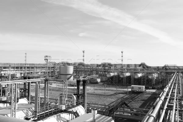 Industrial aço negócio água abstrato fundo Foto stock © cherezoff