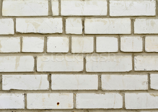 Wall of white bricks Stock photo © cherezoff