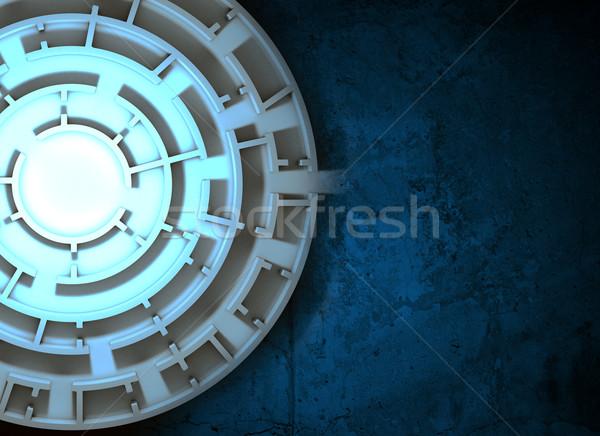 Maze image, top view Stock photo © cherezoff