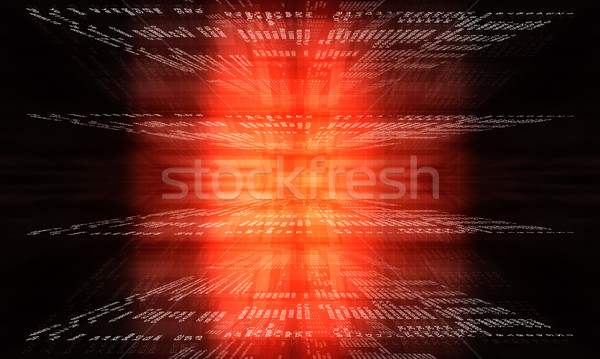Coding application by programmer developer Stock photo © cherezoff