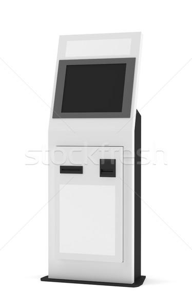 Digital touchscreen terminal Stock photo © cherezoff
