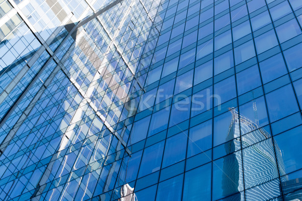 High-rise buildings, close up view Stock photo © cherezoff