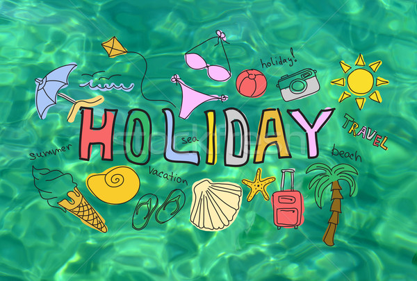 Stock photo: Summer holiday vacation concept