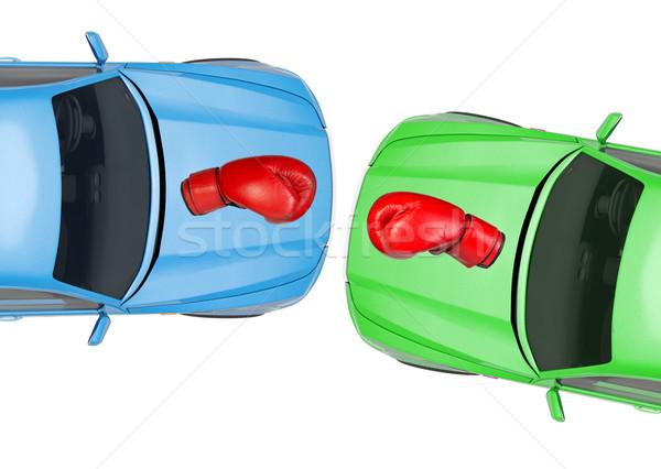 Colorful cars Stock photo © cherezoff
