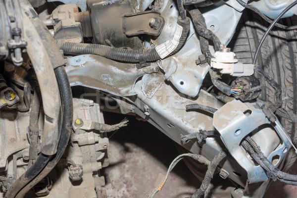 Crashed car Stock photo © cherezoff
