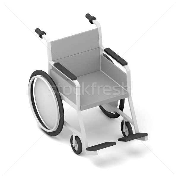 Wheelchair. Isolated on White Background Stock photo © cherezoff