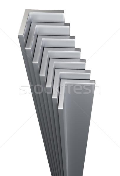 Rolled metal L-bar Stock photo © cherezoff
