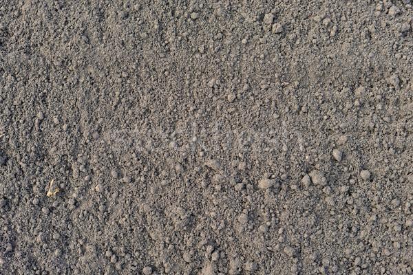 Megművelt barna föld felület természetes háttér Stock fotó © cherezoff