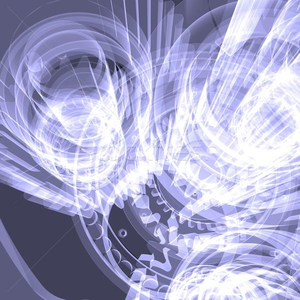 Branco engrenagens raio x tornar preto trabalhar Foto stock © cherezoff