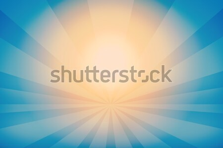 Stock fotó: Absztrakt · sötét · kék · fény · csíkok
