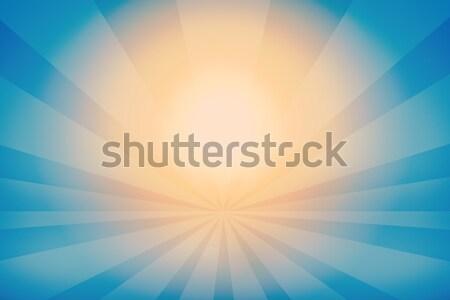 Resumen oscuro azul luz Foto stock © cherezoff