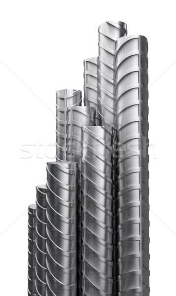 Metal reinforcements, close up Stock photo © cherezoff
