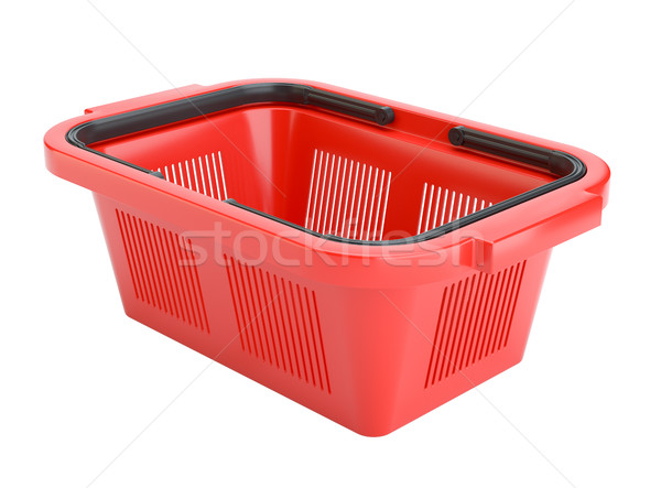 Empty shopping basket Stock photo © cherezoff